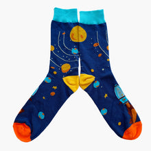Milkyway socks outer space