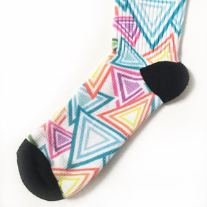Women's Athletic Socks | Triangle - novmtl