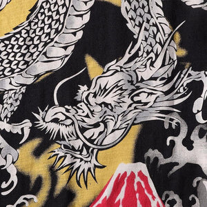Tiger & Dragon embroidery T-Shirt (Black) - novmtl