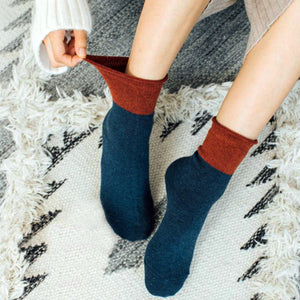 wool socks cozy and warm