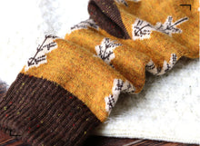 Holiday Special | Wool Socks | Pine Tree (Yellow)