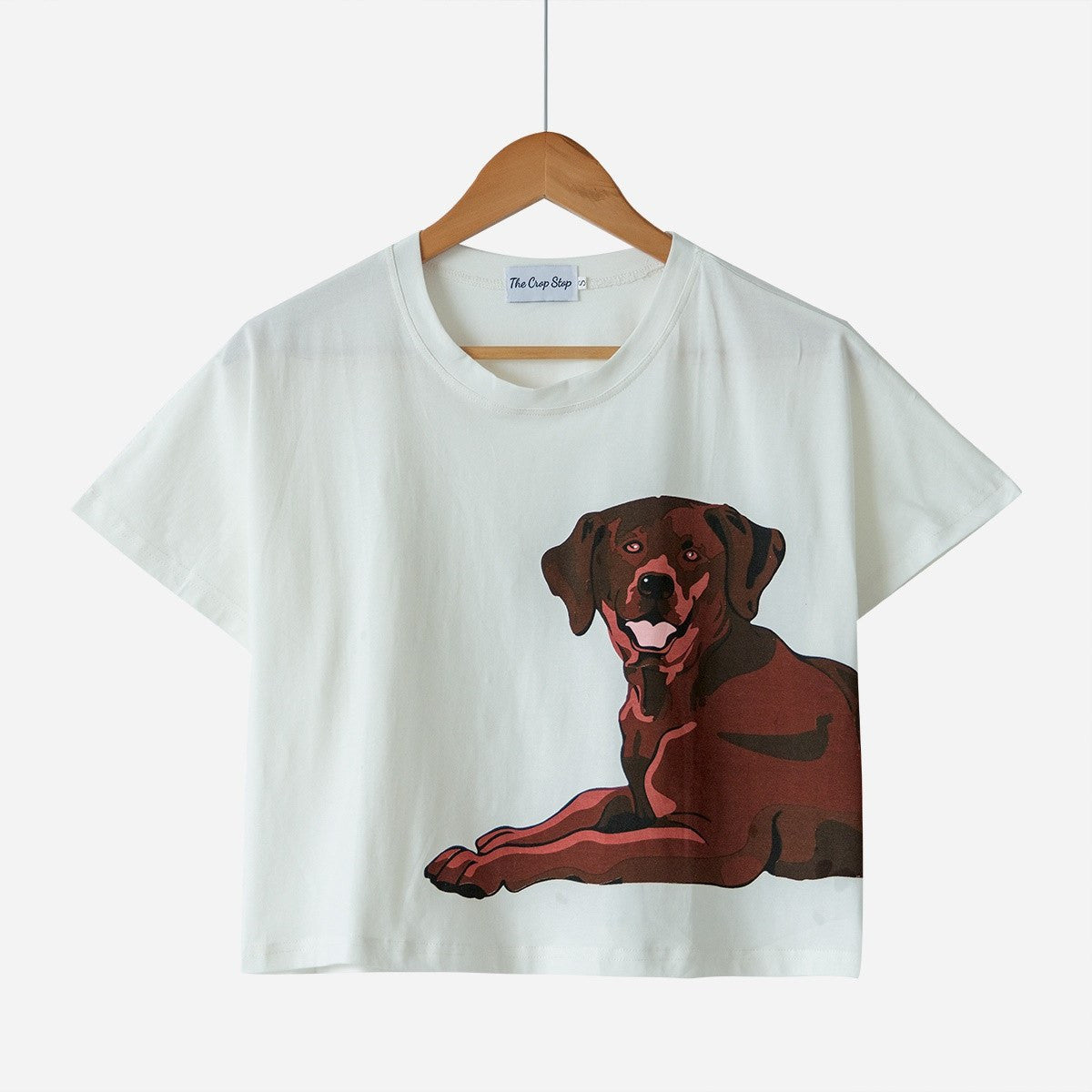 ac84ff9e40bc Chocolate Labrador Two Piece Pajama Set - The Crop Stop
