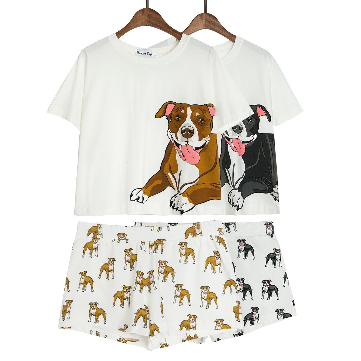 Set - Pit Bull Two Piece Pajama Set