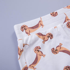 Top - Dachshund PJ Shorts