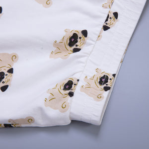 Top - Pug PJ Shorts