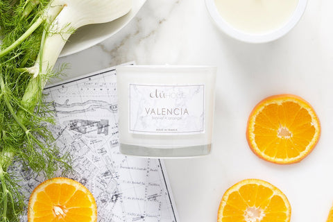 Kitchen Candle, Valencia, Orange and Fennel