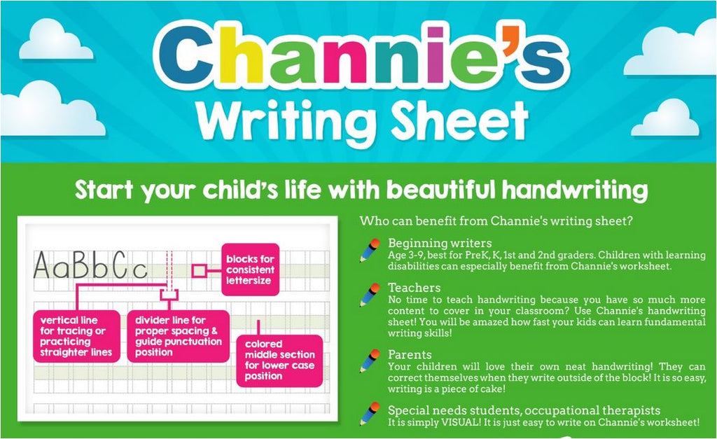 Channies MY FIRST LETTER FOR PRE-K New Way to Learn Alphabet 1ST ...