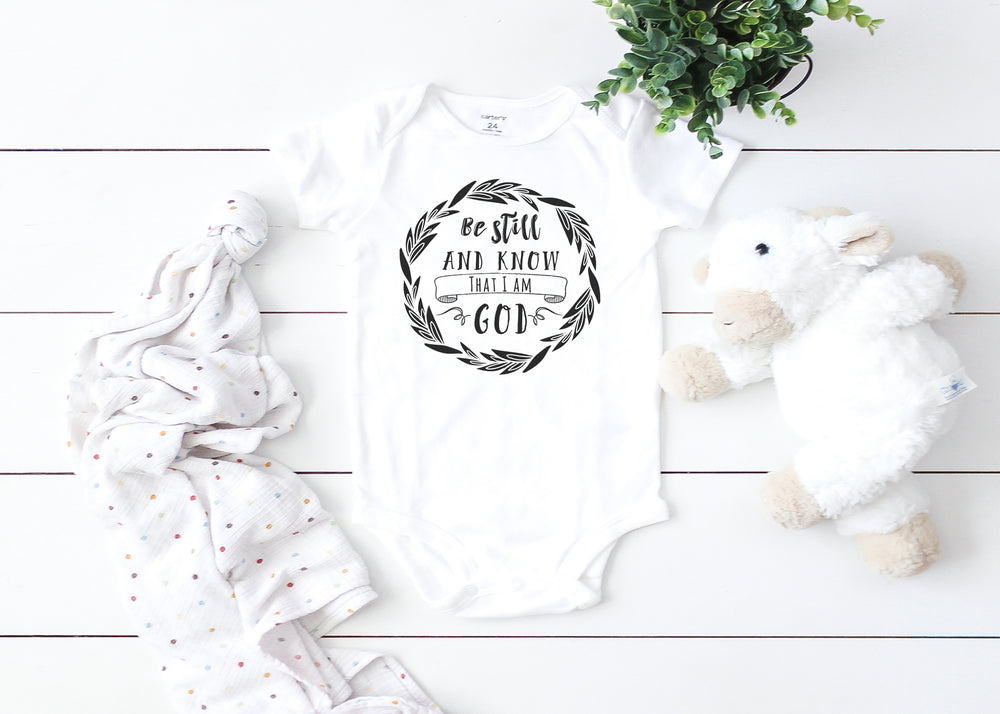 For I know the plans I have for you Graphic baby Bodysuit AA074
