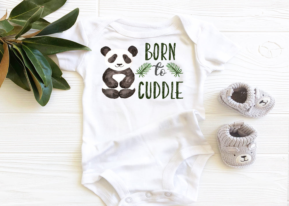Born to Cuddle Baby Bodysuit AA036