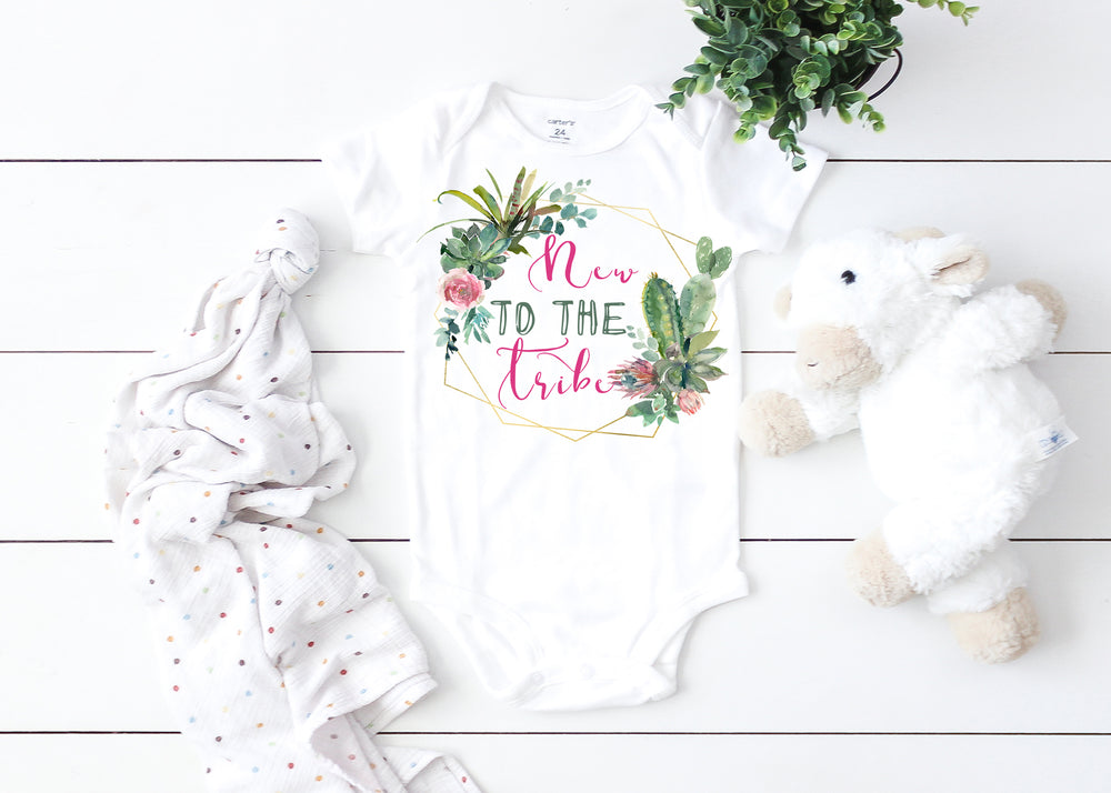 New to the Tribe Graphic  Baby Bodysuit AA334