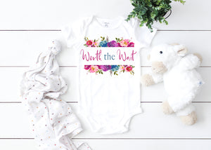 Worth the wait Graphic  Baby Bodysuit AA342