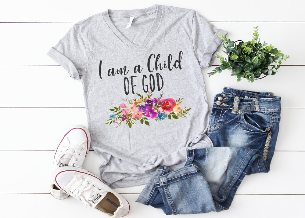 I am a child of God Ladies T-shirt