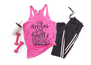 Ladies Fitness Work Out Tank Tops