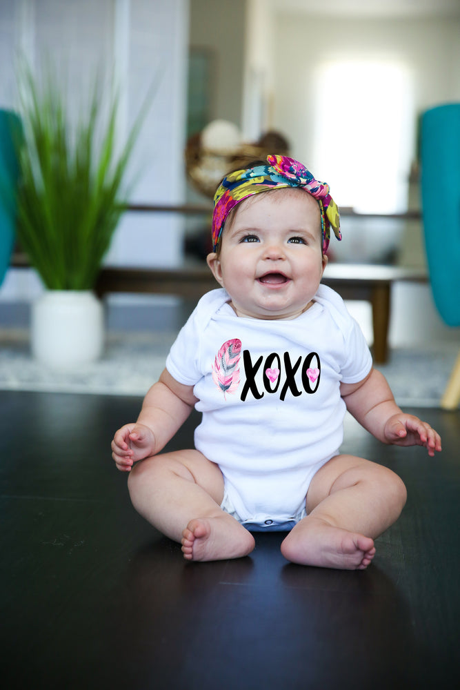 XOXO Graphic Bodysuit Valentines Day