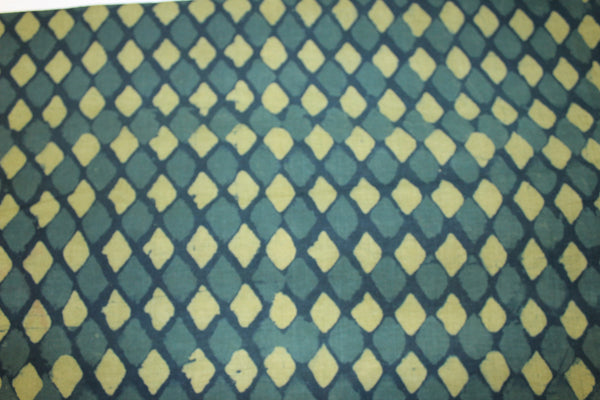 Batik Fabric Diamond Green