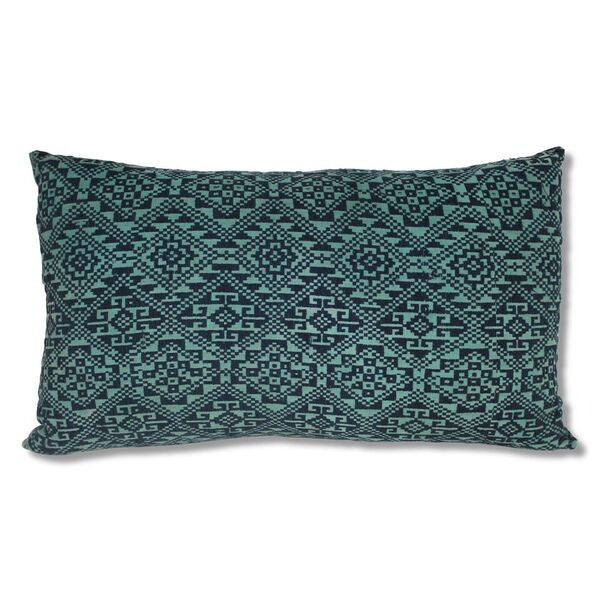 Cushion Green Tribal Vietnam