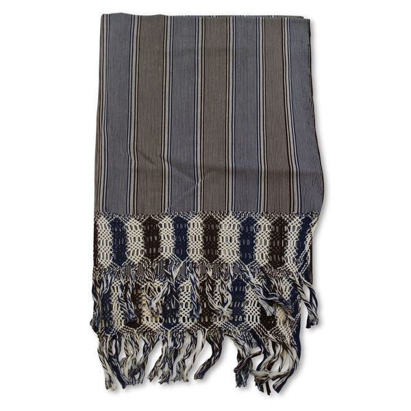 Rebozo Fine Fringe Shawl Cotton