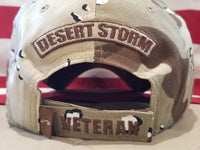 EXCLUSIVE Desert Storm Veteran Hat (without flag)(sale)