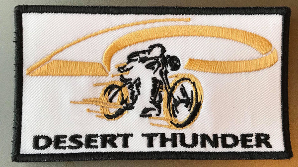 Desert Thunder Rider Patch