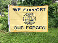 Desert Shield (Support our Forces) Flag (2'x3') Vintage (SALE)
