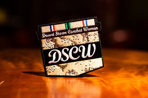 Desert Storm Combat Women Patch