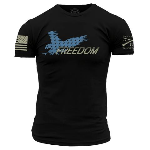 Grunt Style Eagle of Freedom Shirt (black)