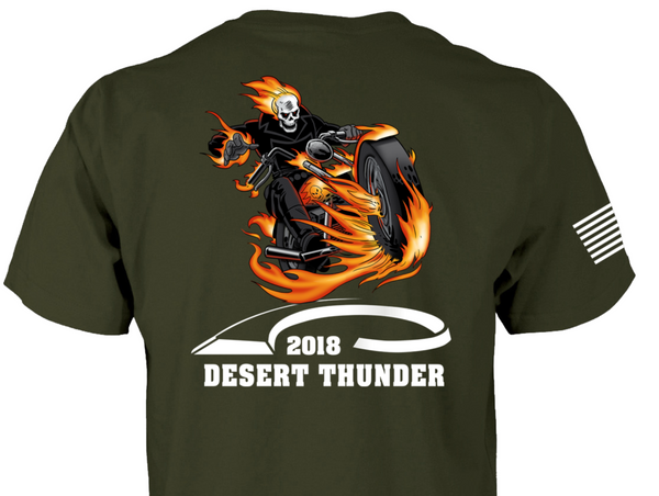 2018 Desert Thunder T-Shirt (Clearance)