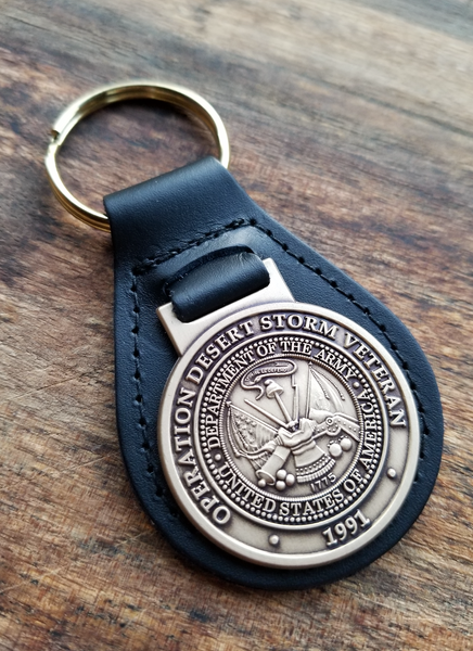(U.S. Army) Desert Storm Veteran Key Ring