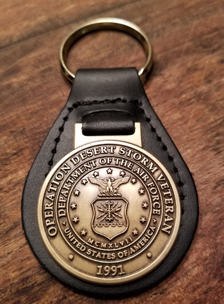 (Air Force) Desert Storm Veteran Key Ring