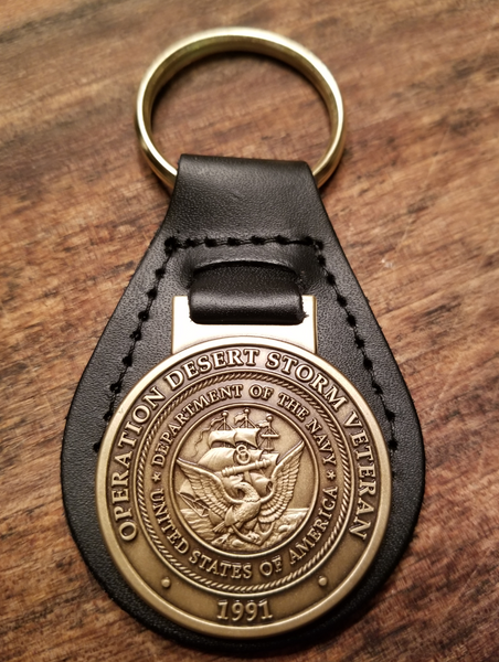 (U.S. Navy) Desert Storm Veteran Key Ring (sale)