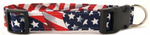 American Flag Dog Collar (5 sizes)