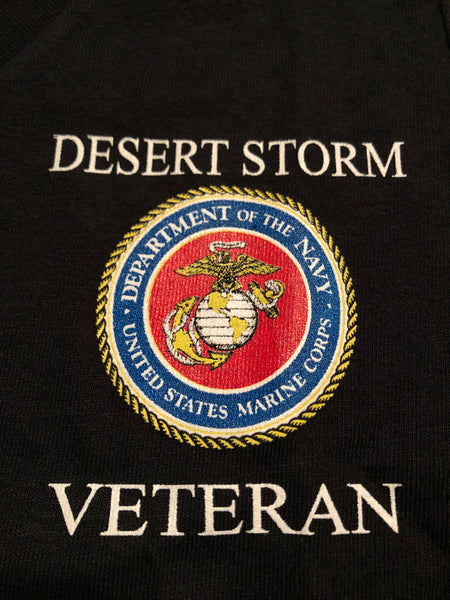 USMC Desert Storm Veteran (Ladies V-neck)
