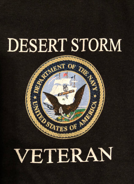U.S. Navy Desert Storm Veteran (Ladies V-neck)