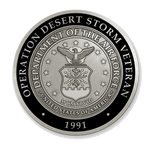 Operation Desert Storm 30th Anniversary Coin (USAF)