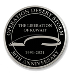 NDSWM Operation Desert Storm 30th Anniversary Coin