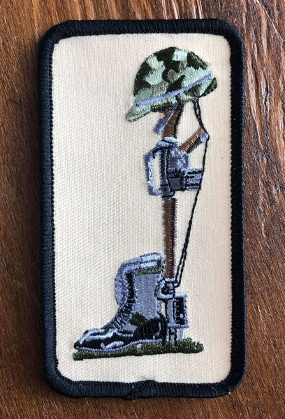 Boots and Rifle Patch