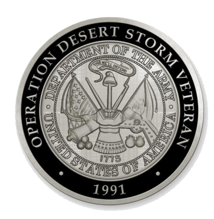 Operation Desert Storm 30th Anniversary Coin (Army)
