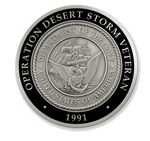Operation Desert Storm 30th Anniversary Coin (Navy)