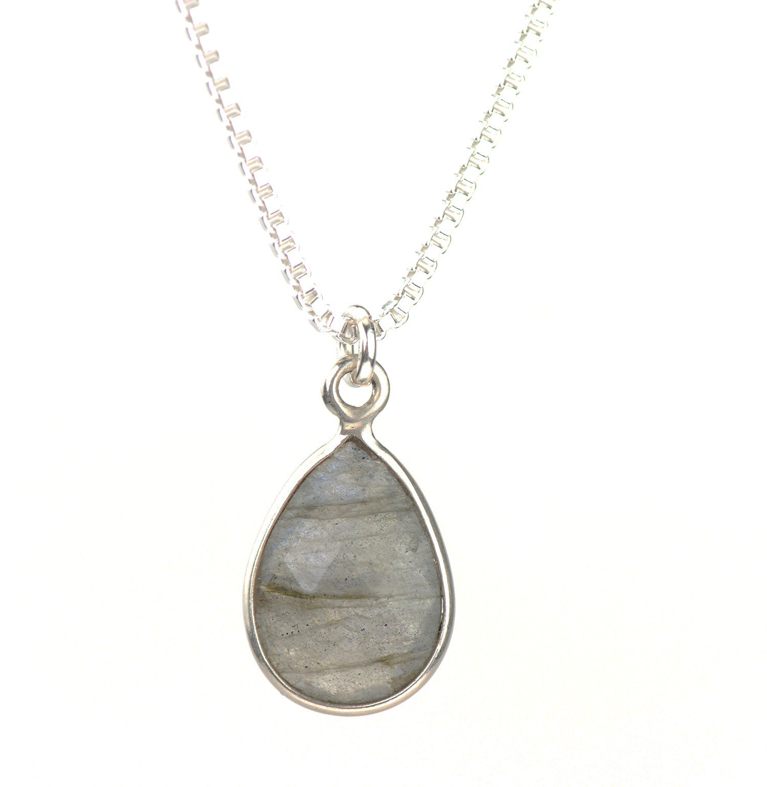 Labradorite pendant with a 20 inch sterling silver chain labradorite pendant with a 20 inch sterling silver chain mozeypictures Choice Image