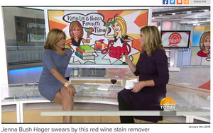 The Today Show Features Chateau Spill