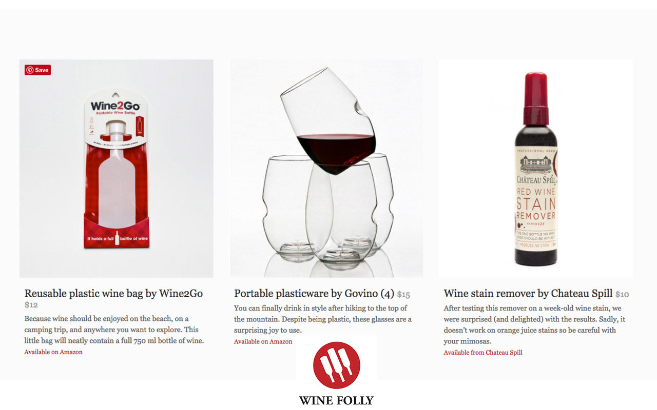 WineFolly feature Chateau Spill for Essential Gifts 2015