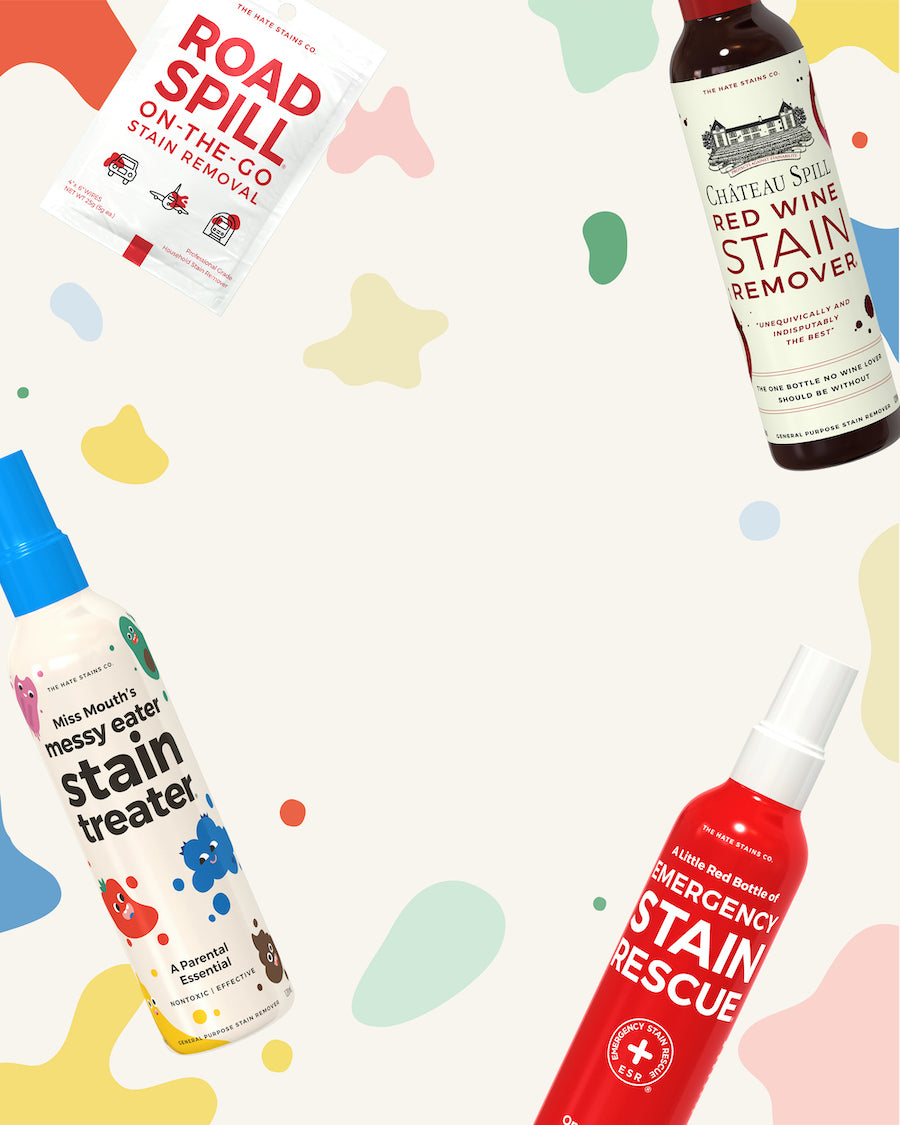 The Hate Stains Co Home Page Banner Mobile - product range 1