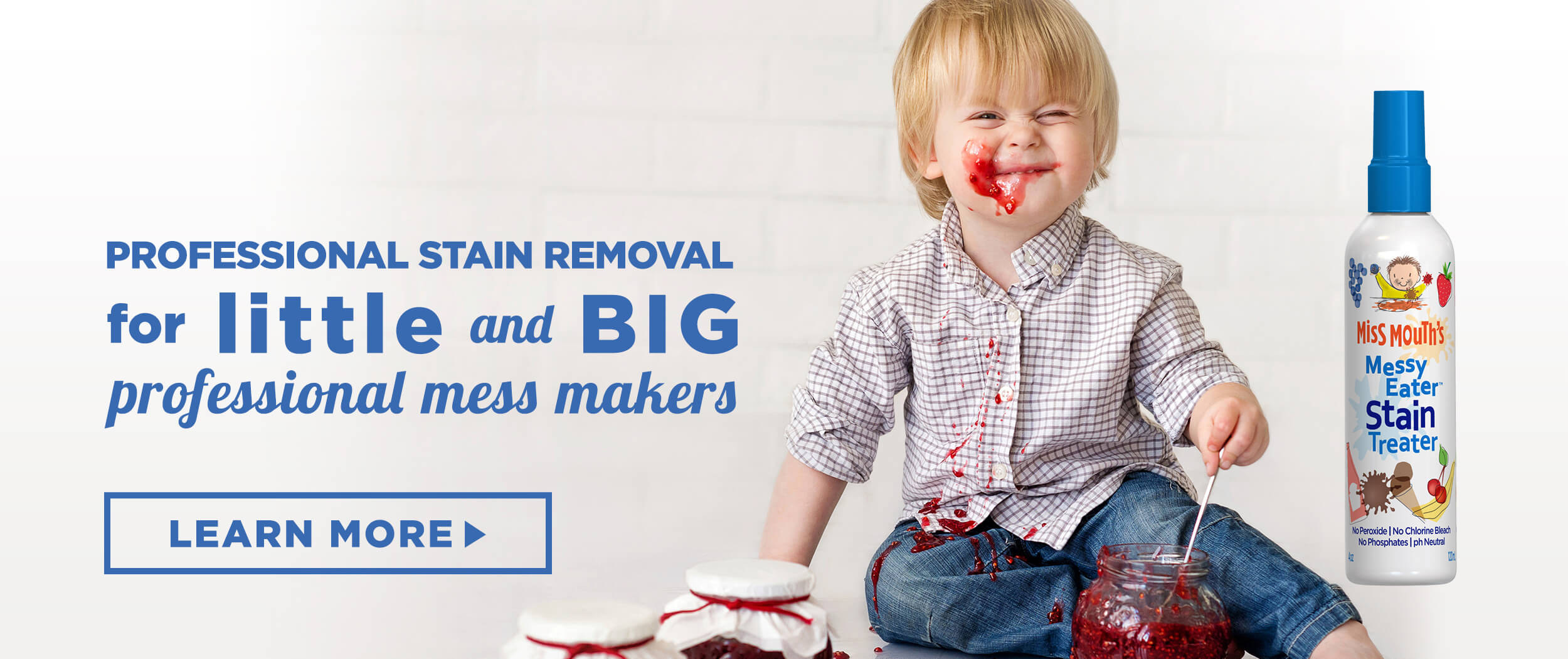 Miss Mouths Messy Eater Stain Treater Billboard 1