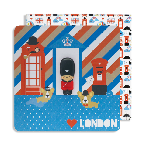 Magnet London Guard Card