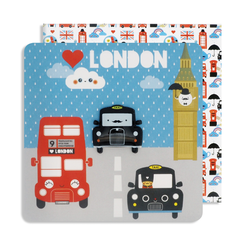 Magnet London Taxi Card