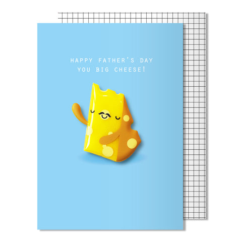 Father's Day Big Cheese Card