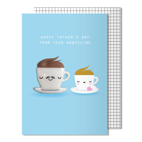 Father's Day Babyccino Card