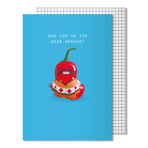 Father's Day Head Honcho Card