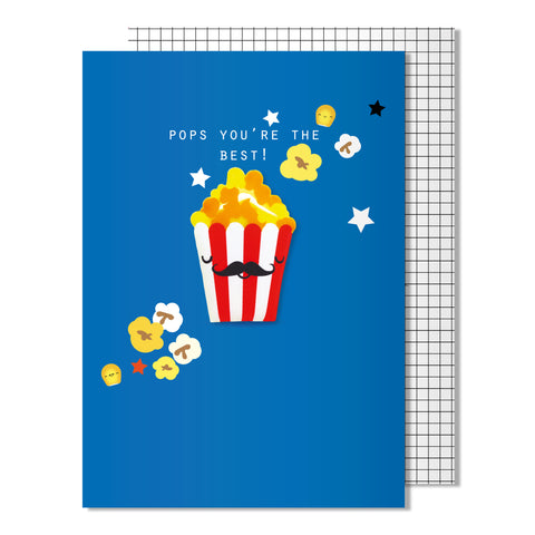 Father's Day Best Pops Card