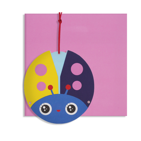 Everyday Moveable Ladybird Card